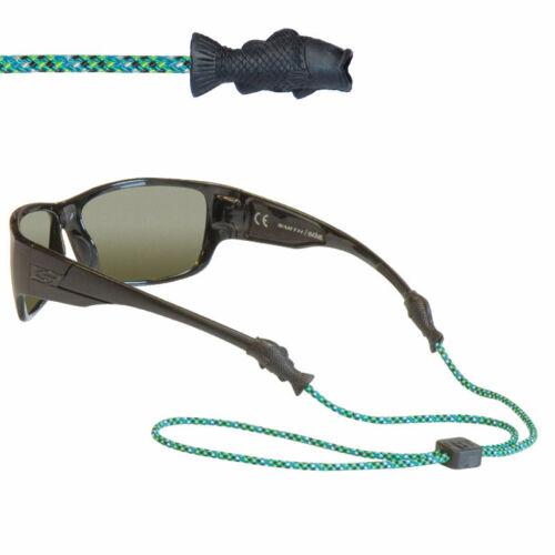 Chums Fish Tip, rain forest (blue, black & green) szemüvegpánt