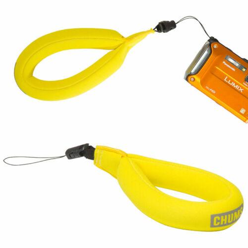 Chums Waterproof Camera & Phone Float, yellow kamera tartó